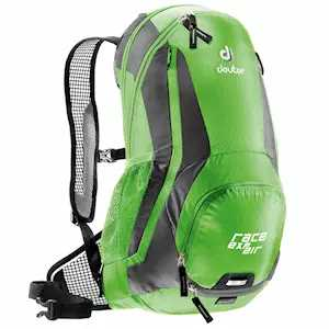 Рюкзак Deuter Race EXP Air, с чехлом, 47x28x15, 12 л, зеленый, 32133_2431